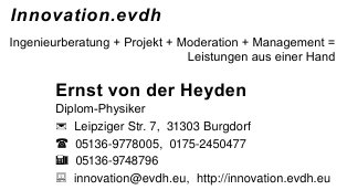 VCard Innovation.evdh